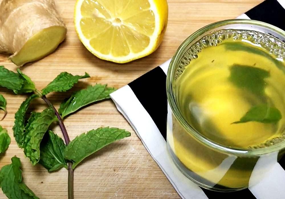 Имбирный чай с имбирем и лимоном для похудения - пошаговый рецепт, фото 1