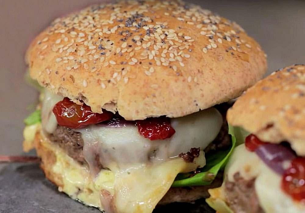 Итальянский гамбургер - пошаговый рецепт, фото 1