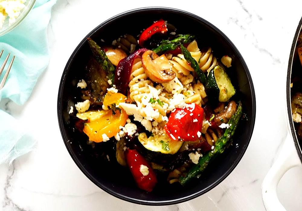 Итальянский салат с макаронами - пошаговый рецепт, фото 1