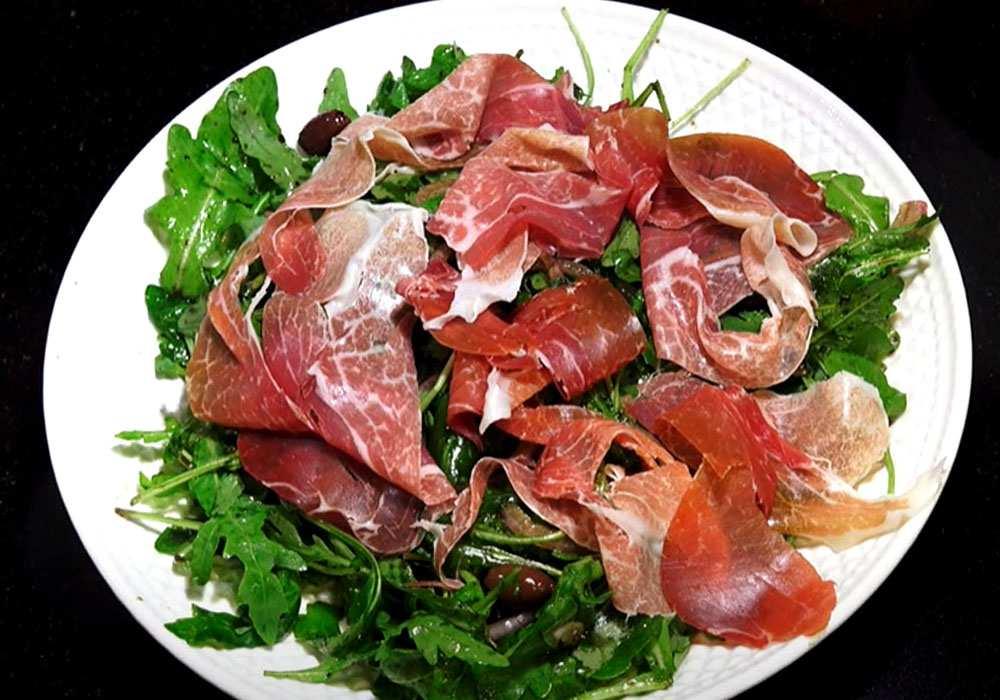 Итальянский салат с ветчиной - пошаговый рецепт, фото 1