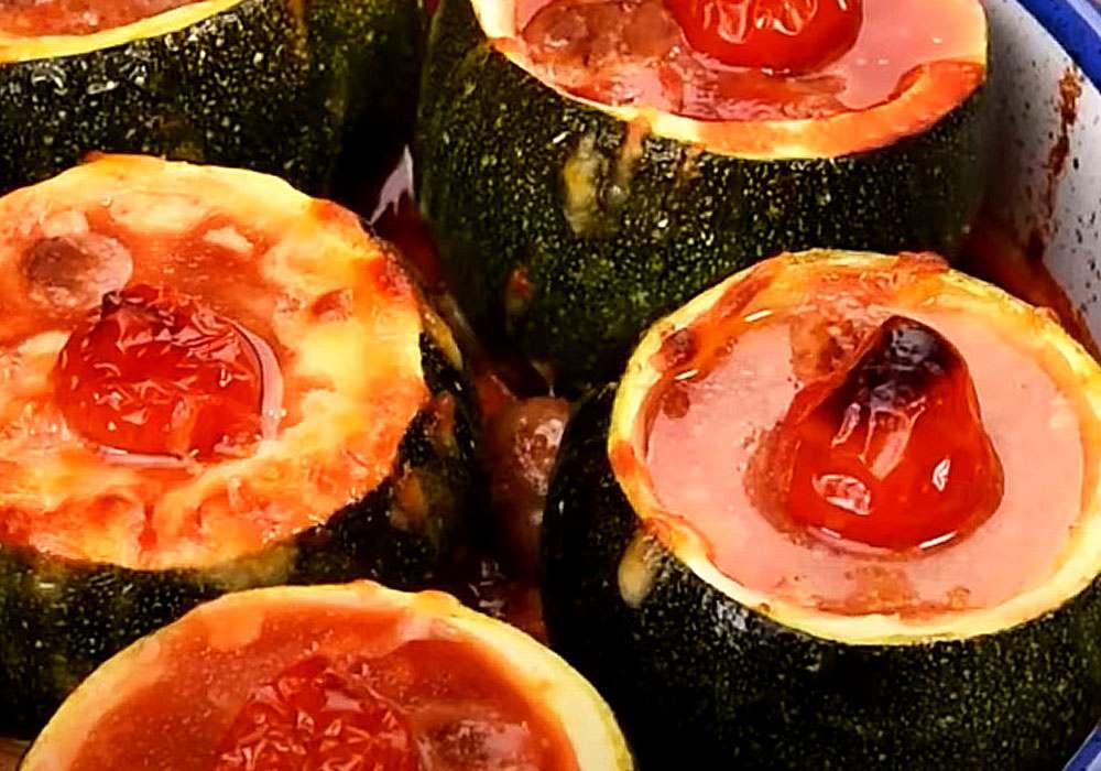 Кабачки, запеченные с сыром - пошаговый рецепт, фото 1