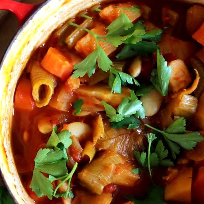 Как приготовить овощное рагу - пошаговый рецепт, фото 1