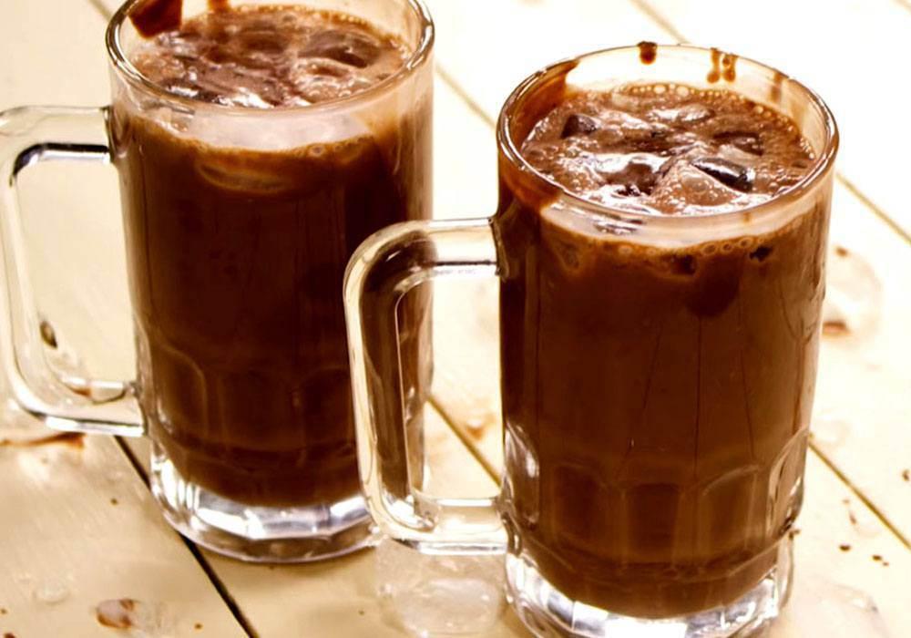 Какао с молоком - пошаговый рецепт, фото 1