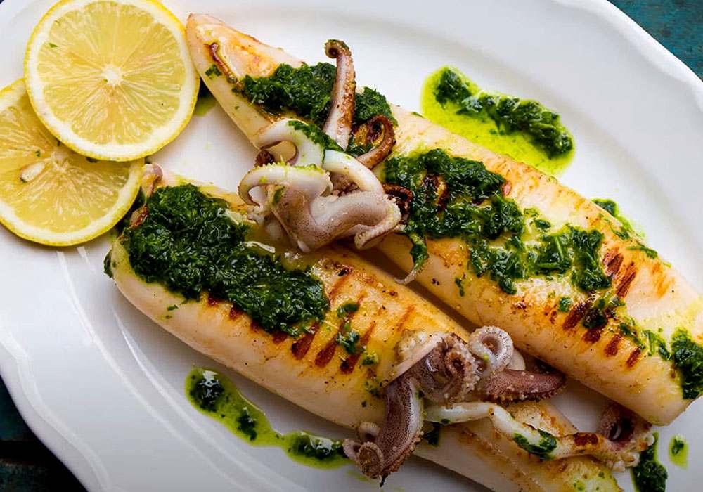 Кальмари гриль - покроковий рецепт, фото 1