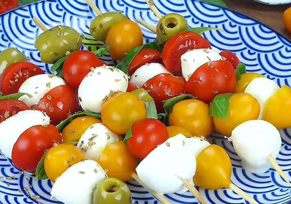 Канапе з сиром і оливками - покроковий рецепт, фото 1