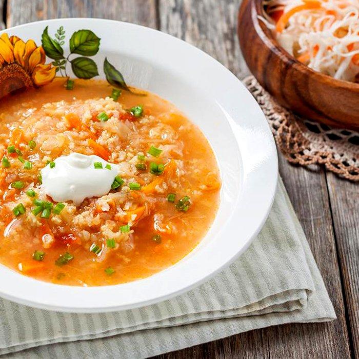 Капустняк с рисом - пошаговый рецепт, фото 1
