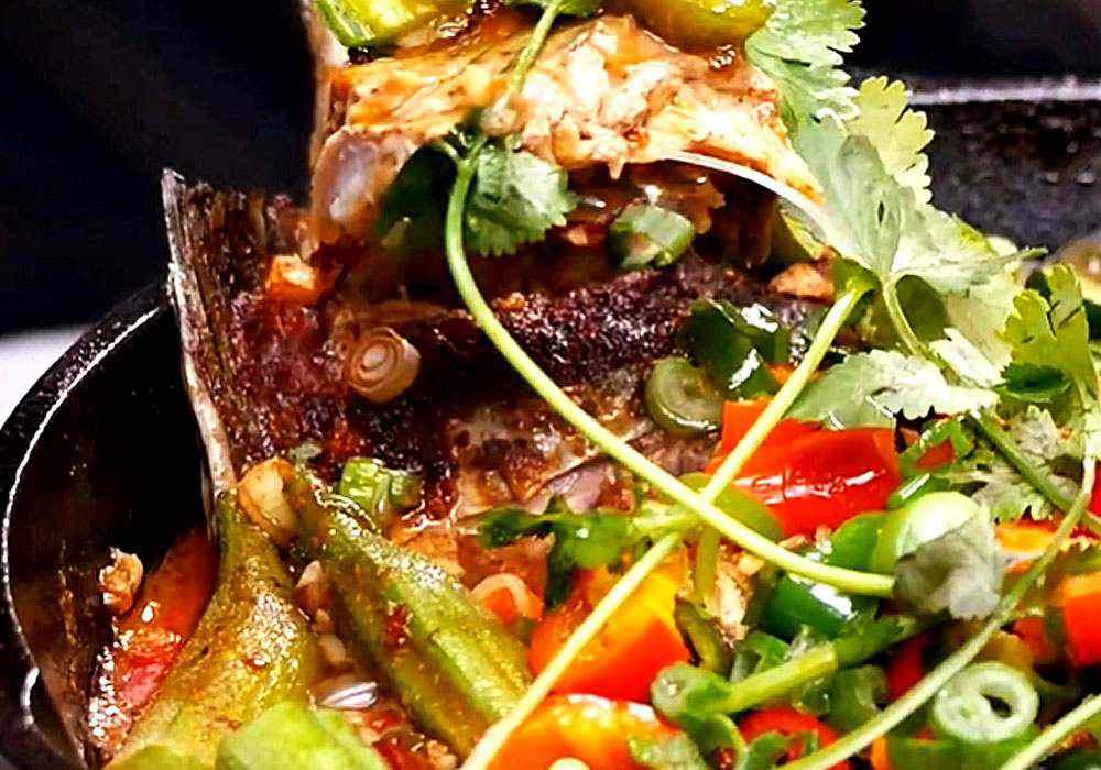 Карп тушеный с овощами - пошаговый рецепт, фото 1