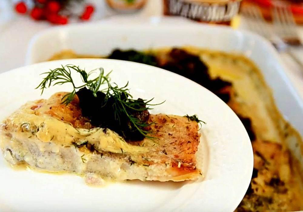 Карп в сметане запеченный в духовке - пошаговый рецепт, фото 1