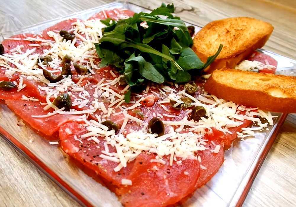 Карпаччо из говядины с пармезаном - пошаговый рецепт, фото 1