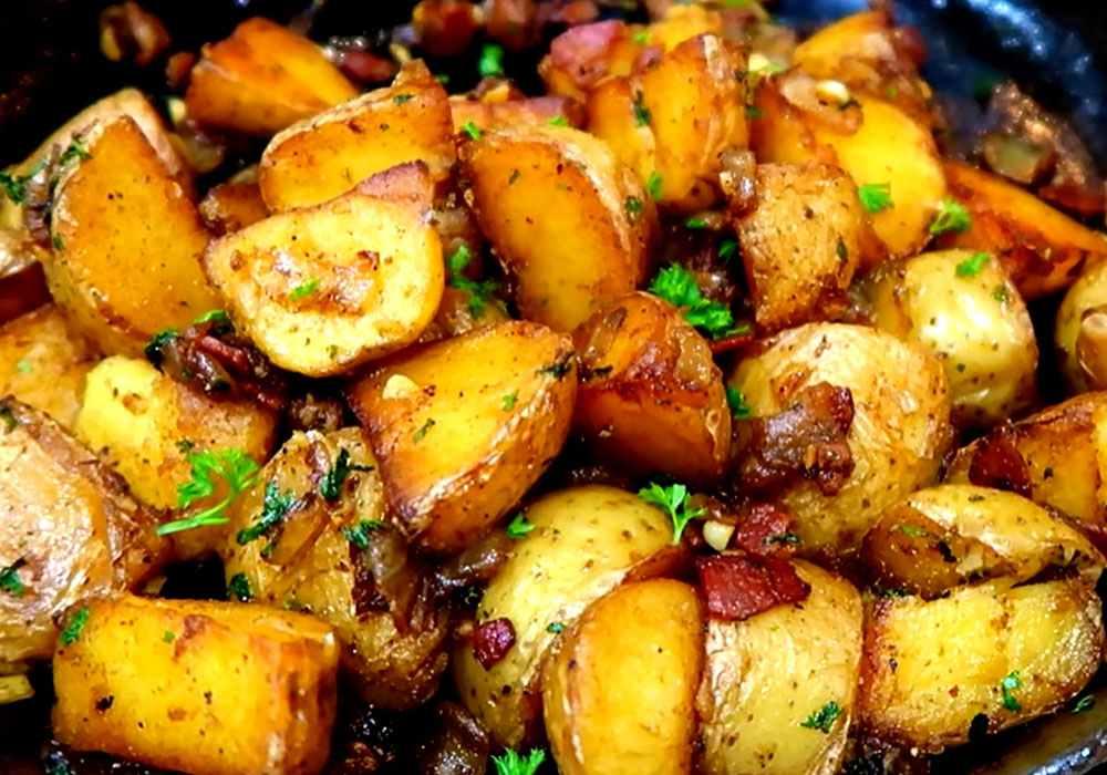 Картопля по-селянськи - покроковий рецепт, фото 1