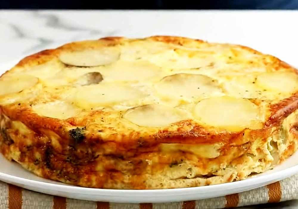 Картопля з брокколі і шинкою - покроковий рецепт, фото 1