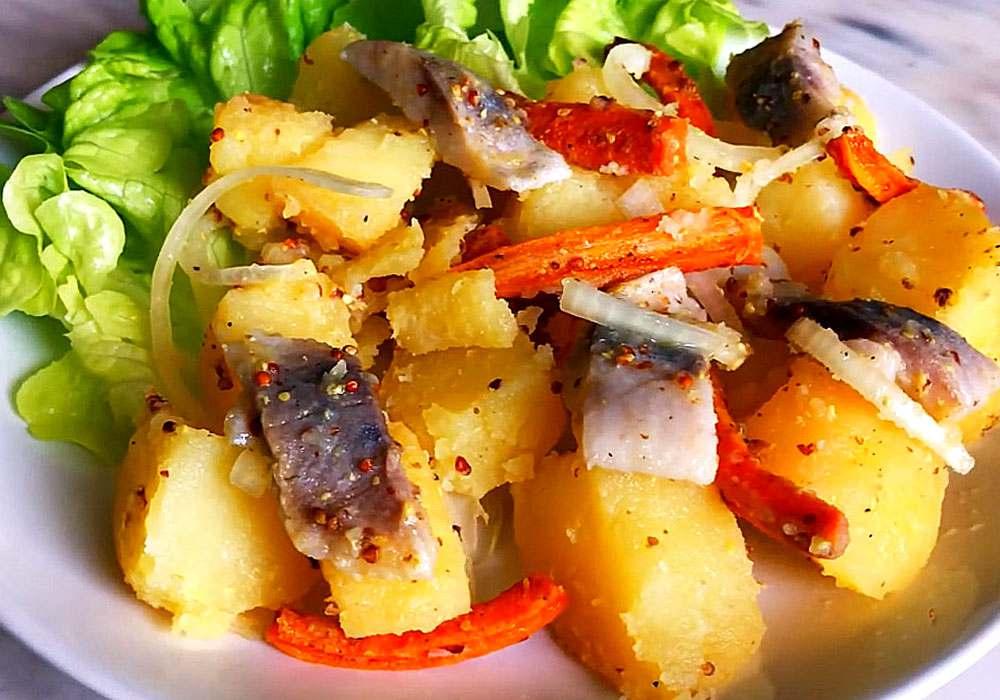 Картофель с сельдью по-фински - пошаговый рецепт, фото 1