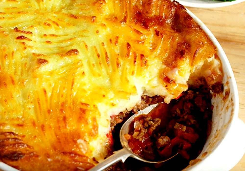 Картофельная запеканка с овощами - пошаговый рецепт, фото 1