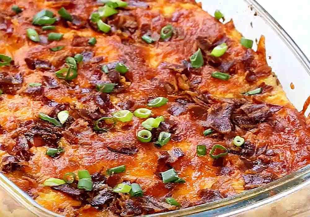 Картопляна бабка в духовці - покроковий рецепт, фото 1