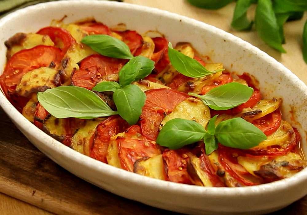 Картопляна запіканка з помідорами - покроковий рецепт, фото 1