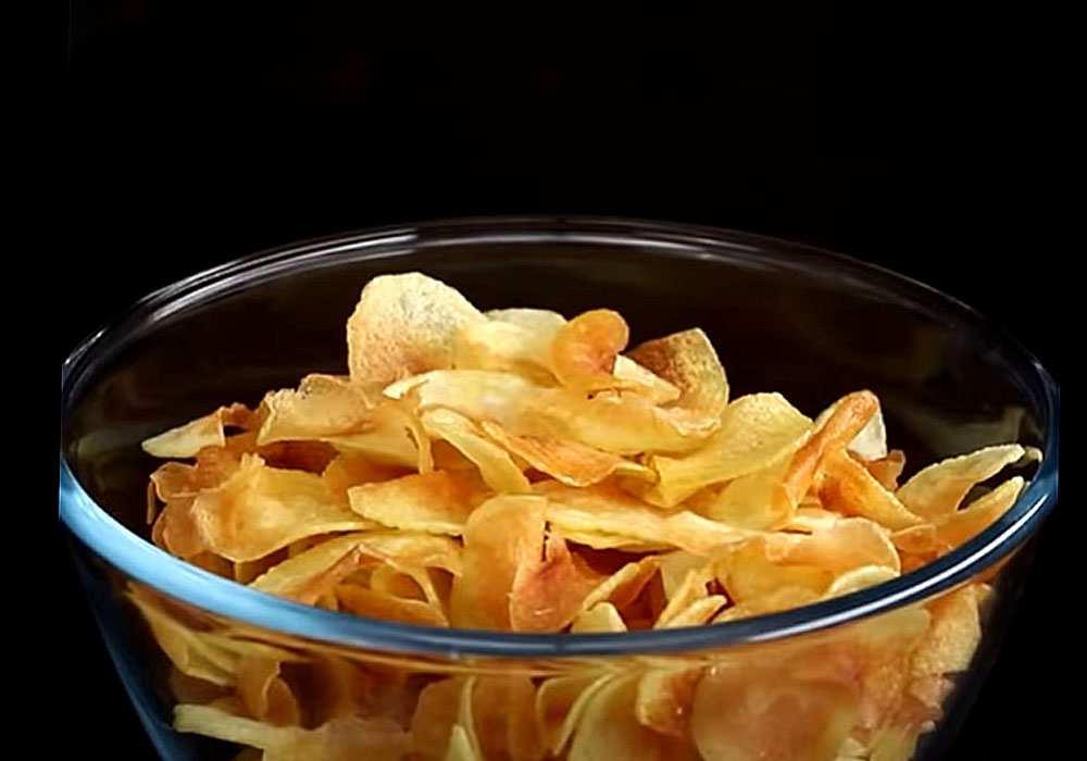 Картофельные чипсы - пошаговый рецепт, фото 1