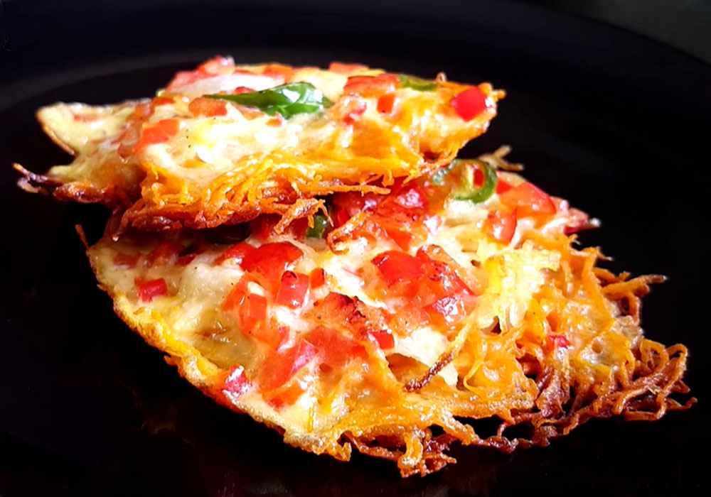 Картофельные драники без муки - пошаговый рецепт, фото 1