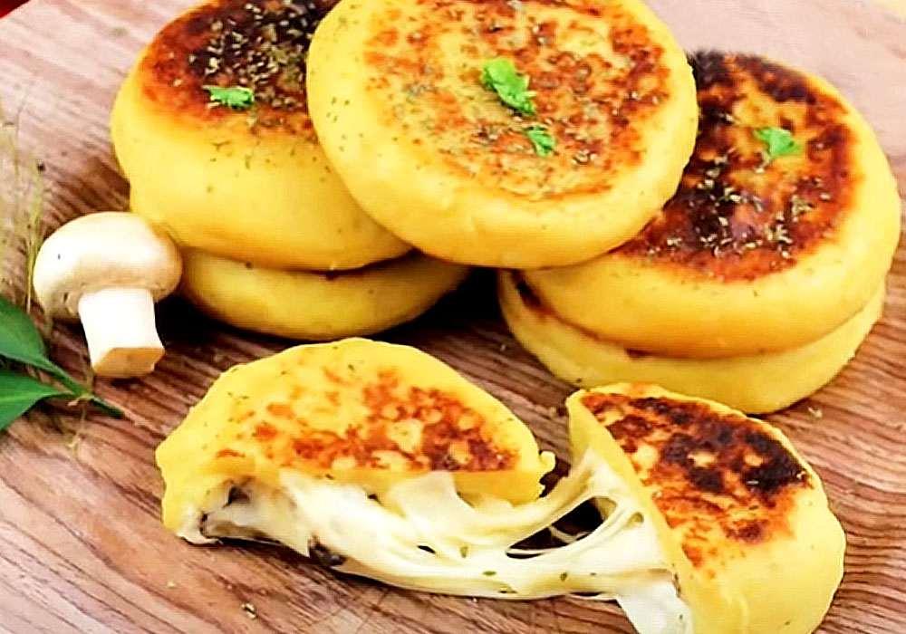 Картопляні зрази і гриби - покроковий рецепт, фото 1