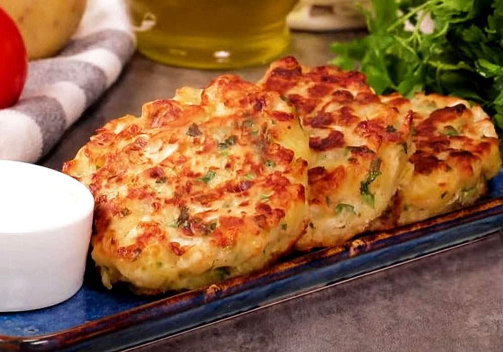 Картофельные зразы с капустой - пошаговый рецепт, фото 1