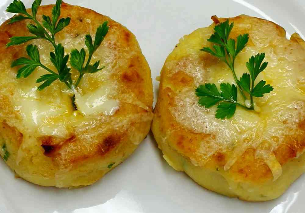 Картофельные зразы в духовке - пошаговый рецепт, фото 1