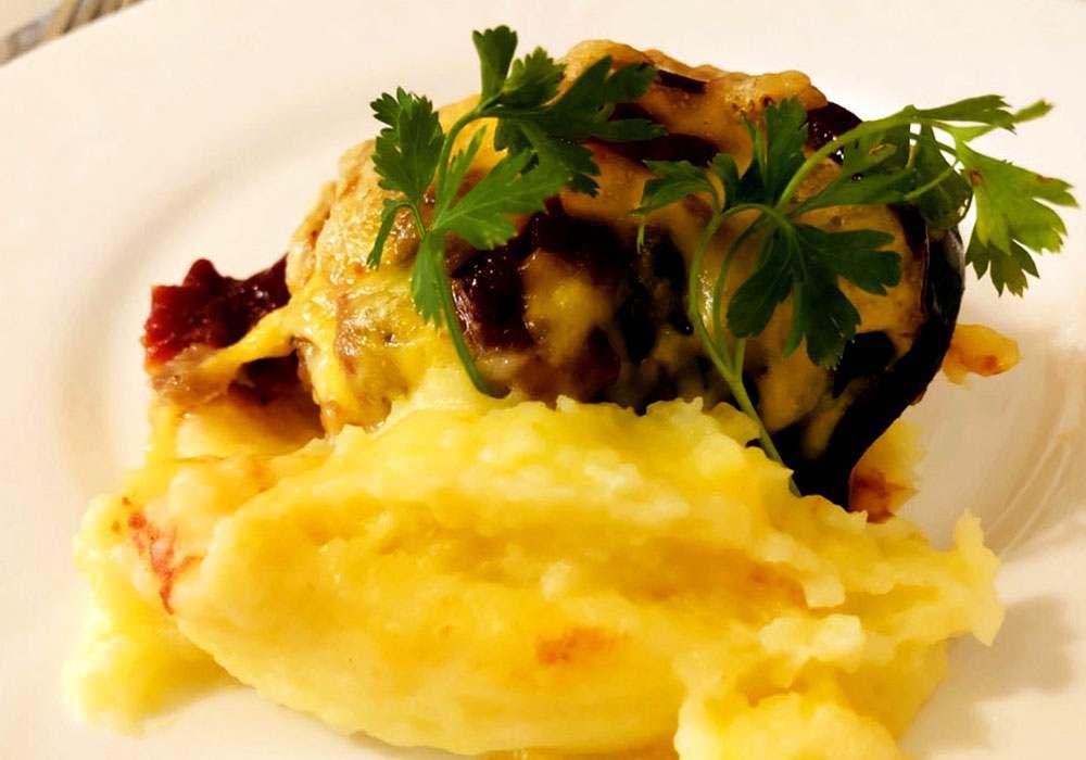 Картопляне пюре з баклажанами - покроковий рецепт, фото 1