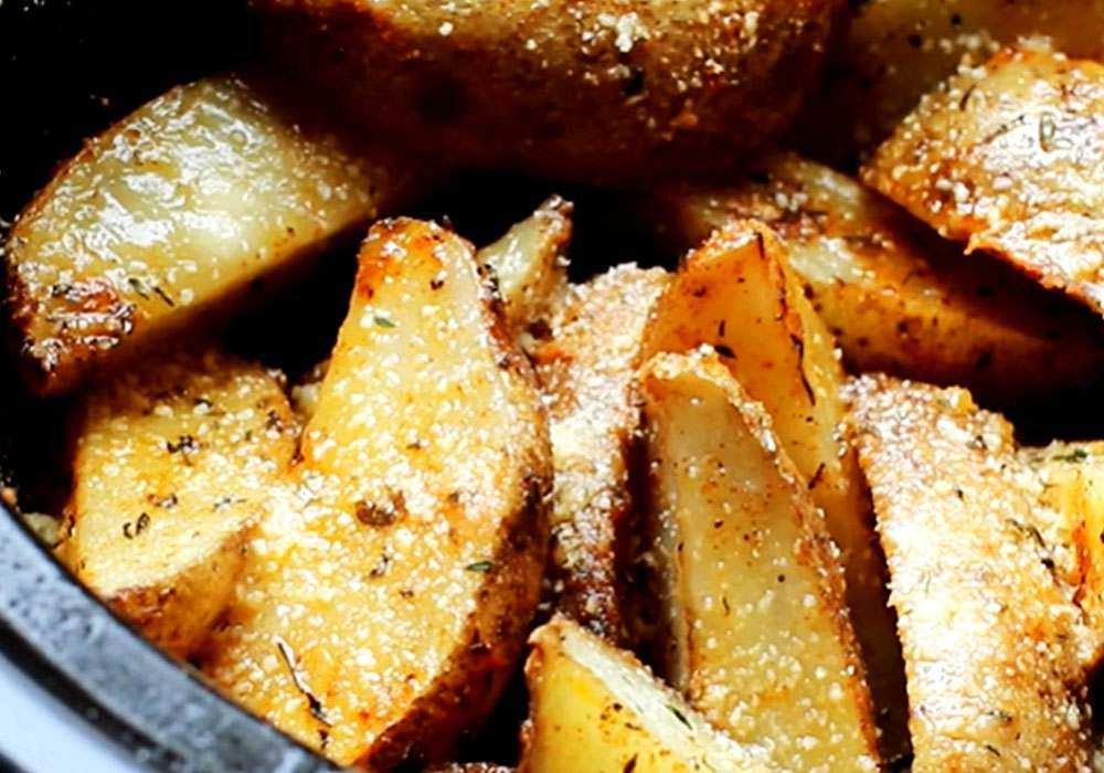 Картопля по-селянськи в мультиварці - покроковий рецепт, фото 1