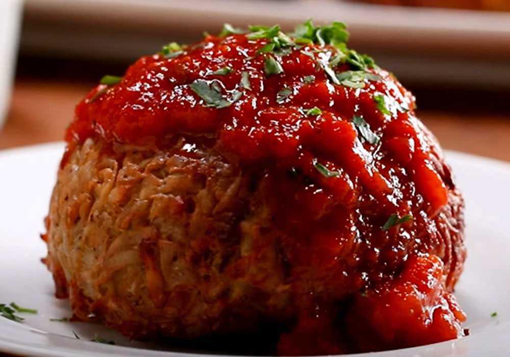Картошка, фаршированная мясом - пошаговый рецепт, фото 1
