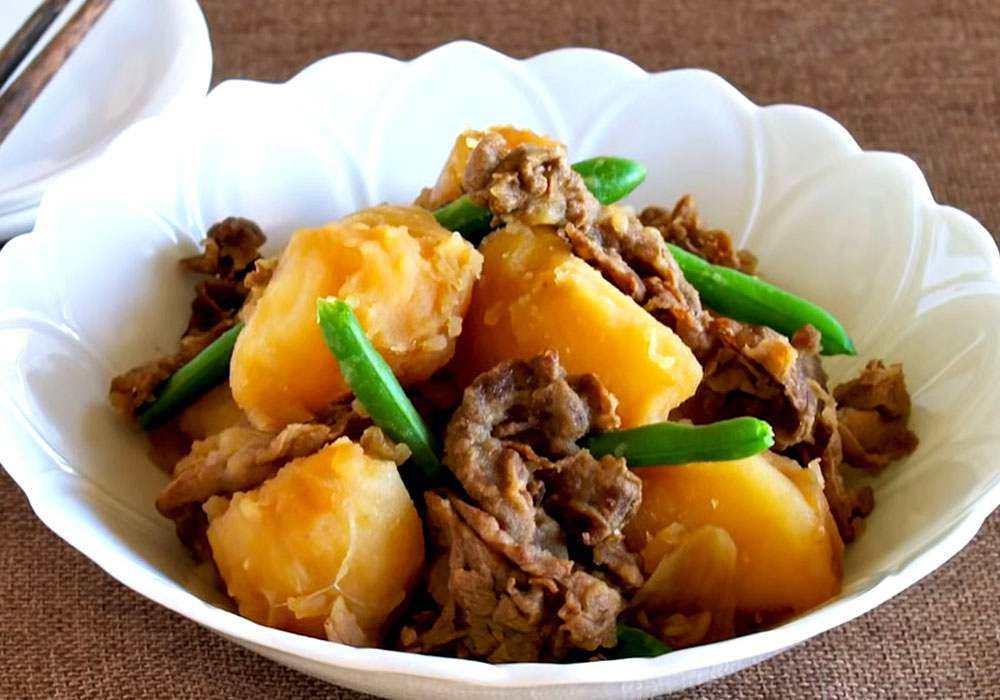 Картошка тушеная - пошаговый рецепт, фото 1