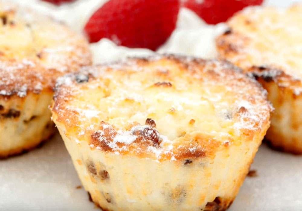 Кекс с изюмом - пошаговый рецепт, фото 1