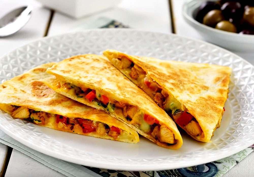 Кесадилья мексиканская - пошаговый рецепт, фото 1
