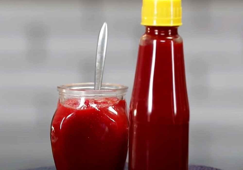 Кетчуп з помідор на зиму заготовки - покроковий рецепт, фото 1