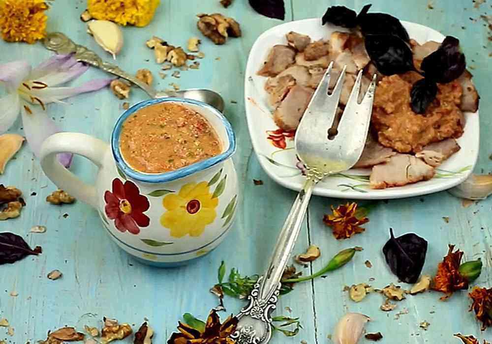 Кетчуп на зиму сацебели - пошаговый рецепт, фото 1