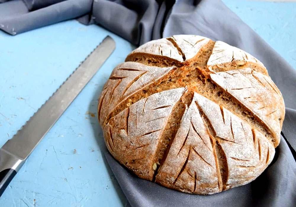 Хліб чорний - покроковий рецепт, фото 1