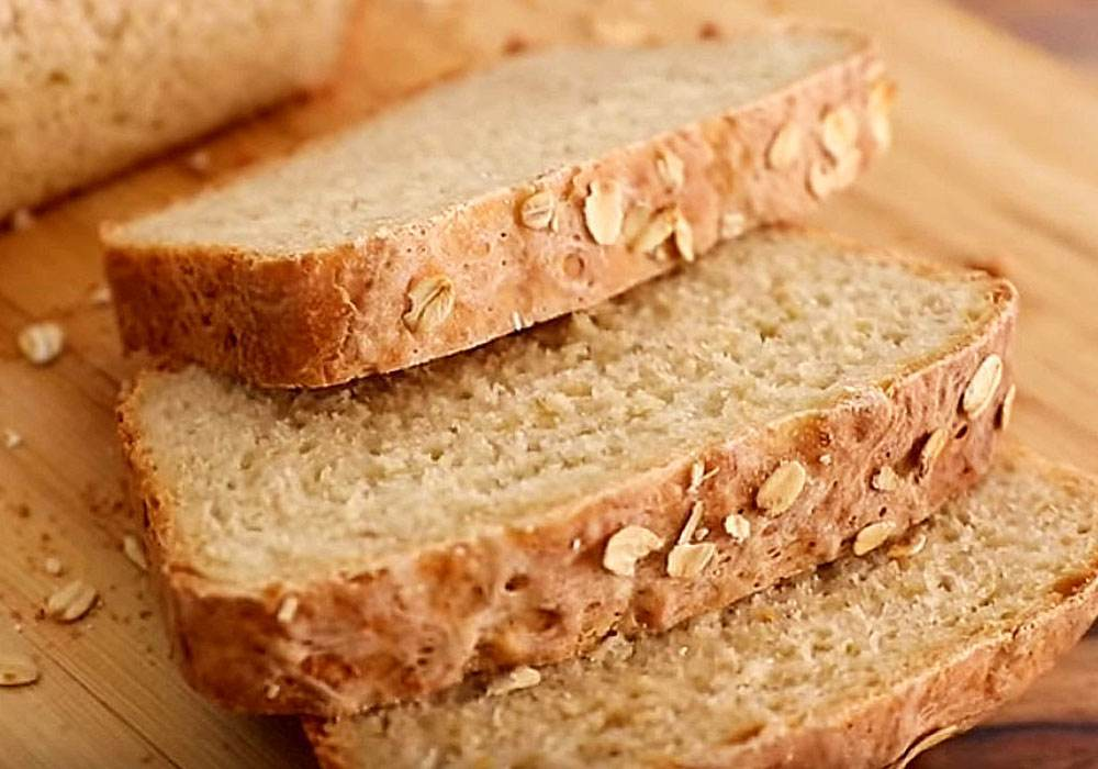 Хлеб в духовке - пошаговый рецепт, фото 1