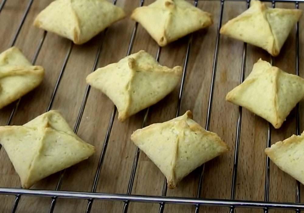 Китайское печенье с предсказаниями - пошаговый рецепт, фото 1