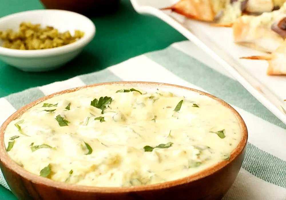 Классический домашний соус тартар с солеными огурцами - пошаговый рецепт, фото 1
