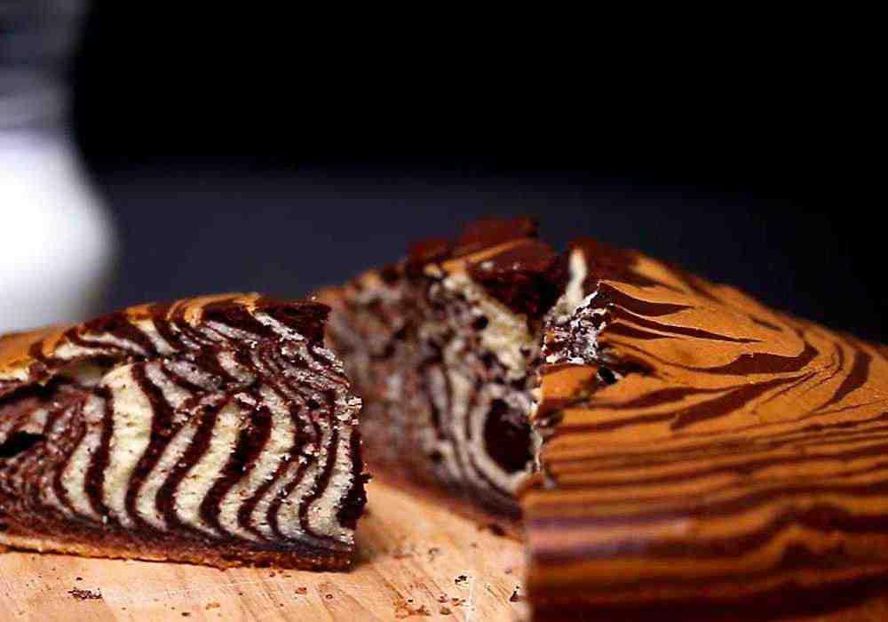 Классический торт Зебра - пошаговый рецепт, фото 1