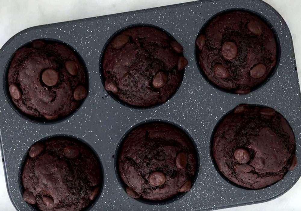 Классические шоколадные маффины - пошаговый рецепт, фото 1