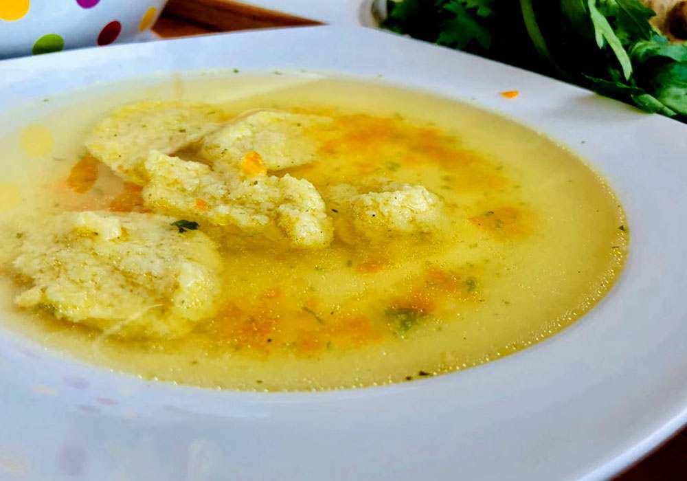 Галушки в супі - покроковий рецепт, фото 1