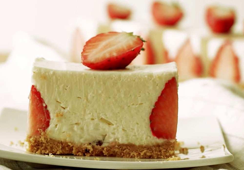 Клубничный торт (без выпечки) - пошаговый рецепт, фото 1