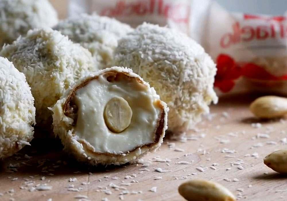 Конфеты Рафаэлло - пошаговый рецепт, фото 1