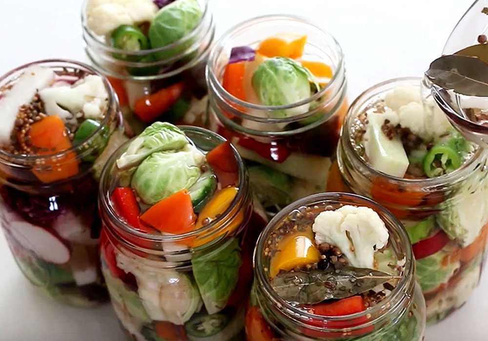 Консервована кольорова капуста (заготівля на зиму) - покроковий рецепт, фото 1