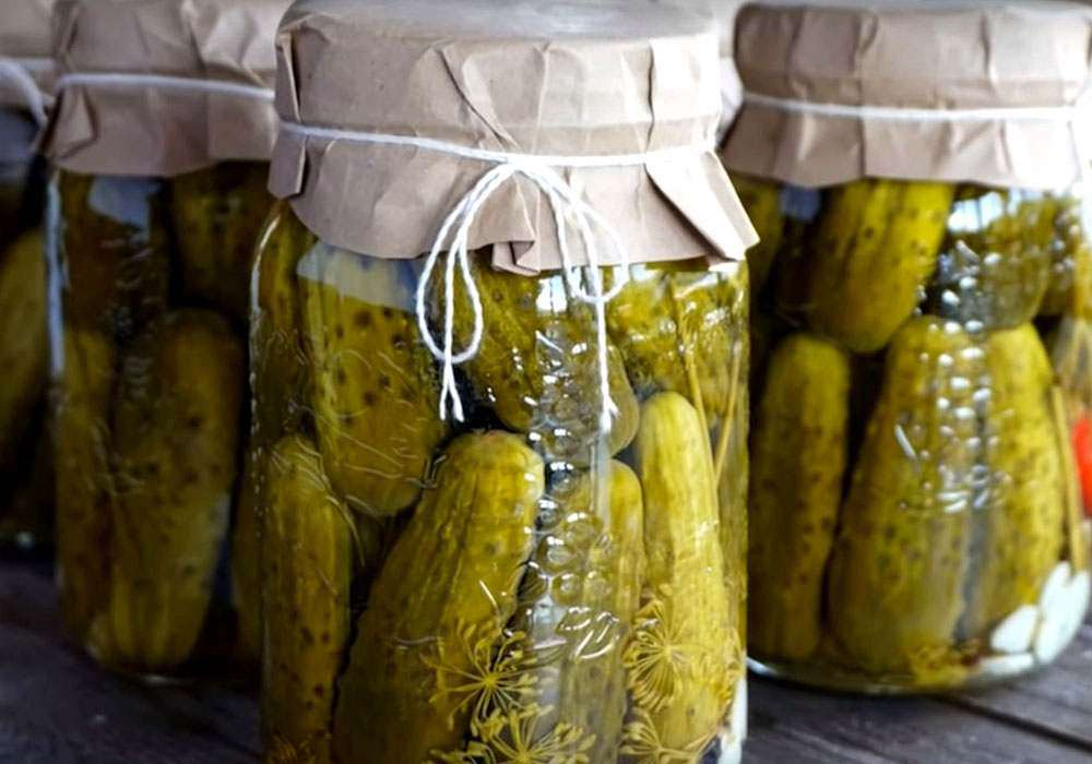 Консервовані огірки без оцту - покроковий рецепт, фото 1