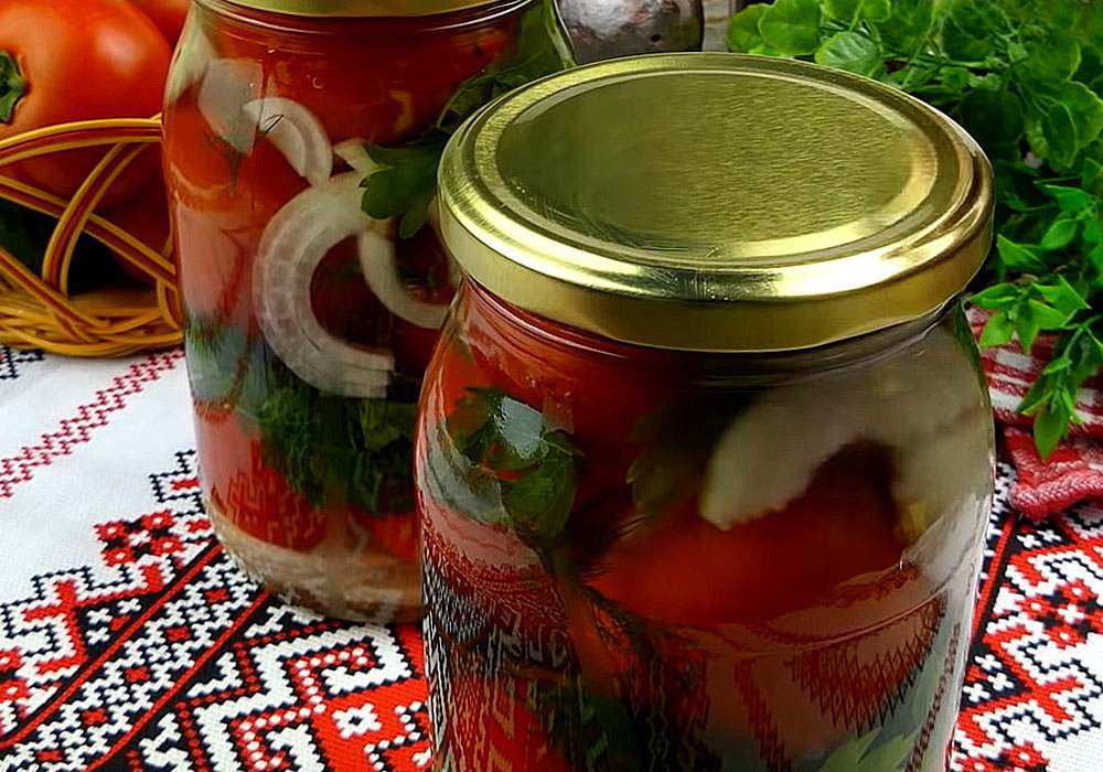 Консервовані помідори вдома - покроковий рецепт, фото 1