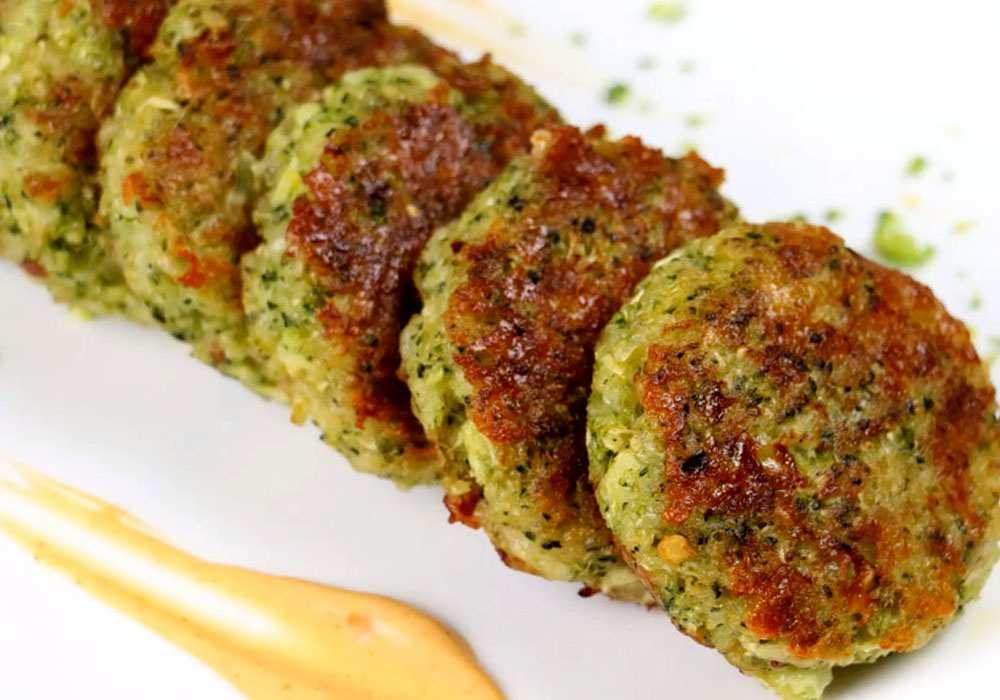 Котлеты из брокколи - пошаговый рецепт, фото 1