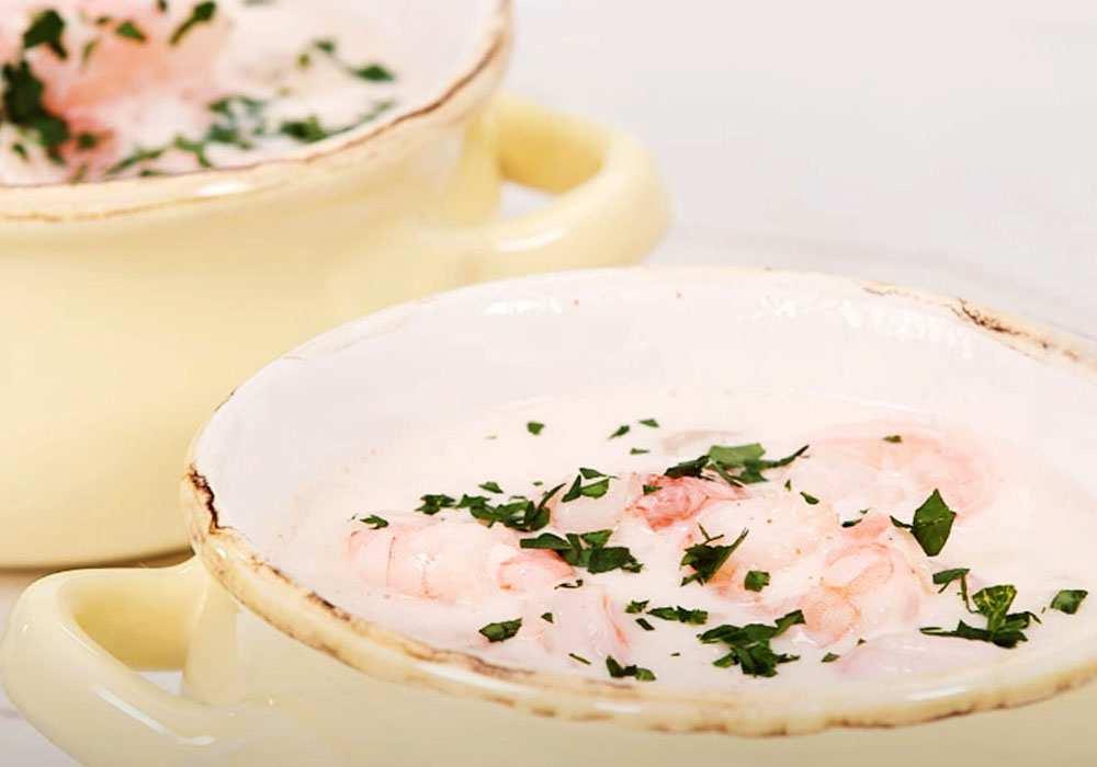 Крем-суп з креветками - покроковий рецепт, фото 1