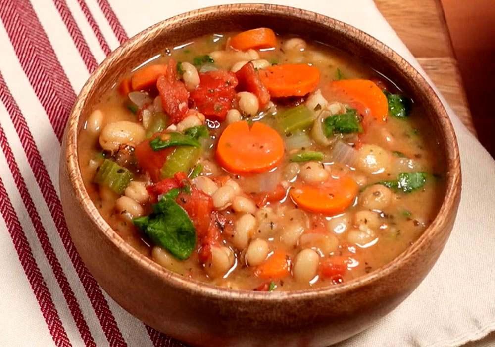 Крестьянский фасолевый суп - пошаговый рецепт, фото 1