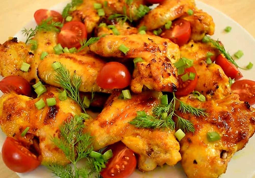 Крылышки куриные в горчичном соусе - пошаговый рецепт, фото 1