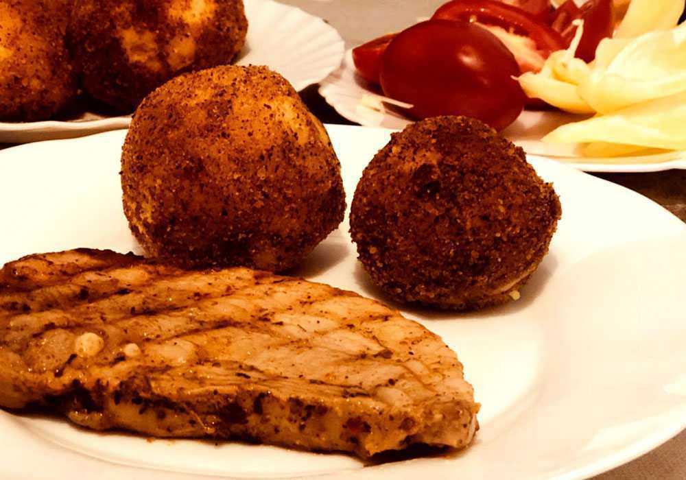 Крокеты из картофельного пюре - пошаговый рецепт, фото 1