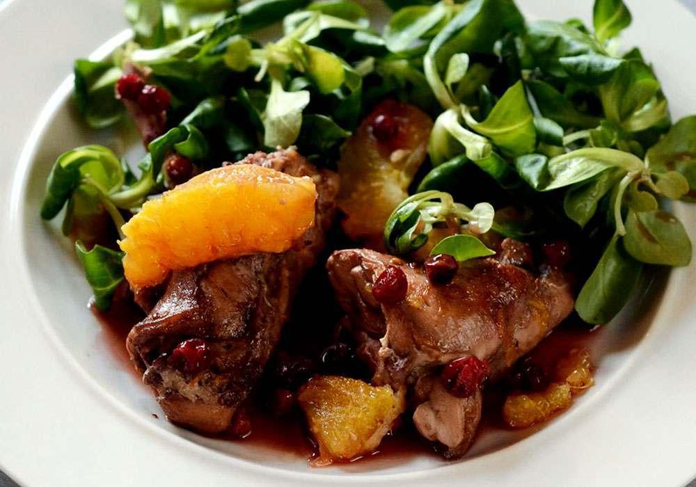 Кролик в винном соусе - пошаговый рецепт, фото 1
